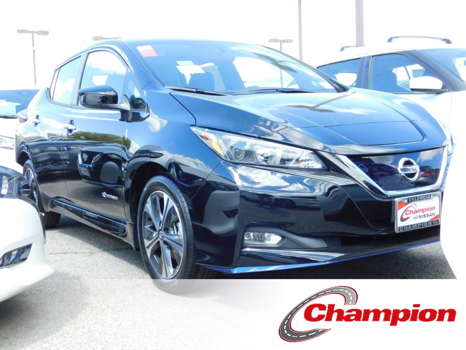 New 2019 Nissan Leaf Sv Plus Hatchback In Valencia 490267